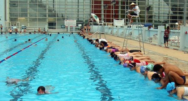 Xử lý nước bể bơi rất quan trọng