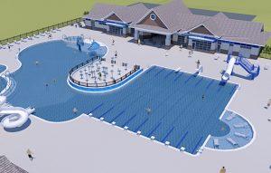 Kích thước chuẩn của bể bơi