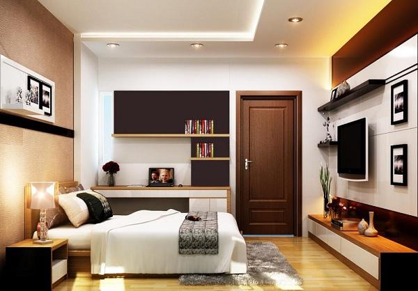 Sắp xếp đồ vật trong phòng ngủ một cách hợp lý