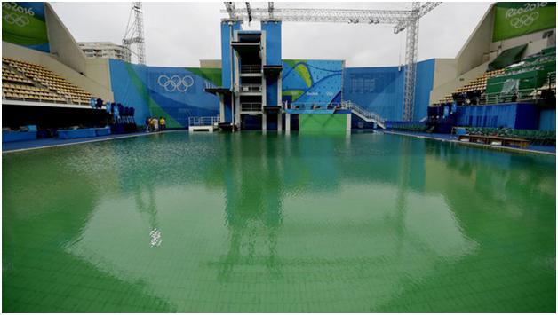 Bể bơi bị ô nhiễm gây ảnh hưởng tới sức khỏe và kinh tế