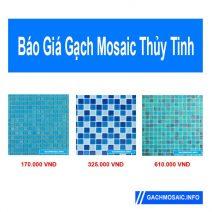 Báo giá gạch mosaic thủy tinh
