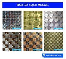 Báo giá gạch mosaic trang trí